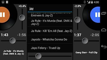 Screenshot of Party Mixer - DJ player app