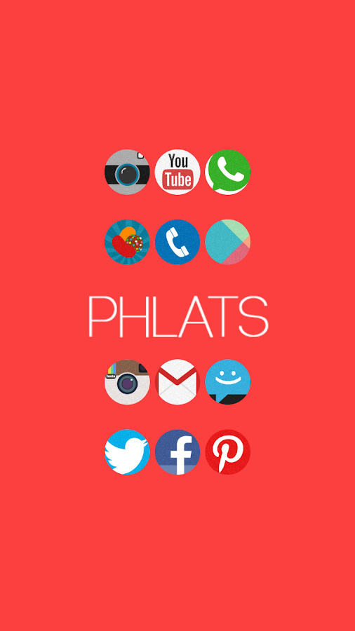 Phlats (Go Apex Nova theme) - screenshot