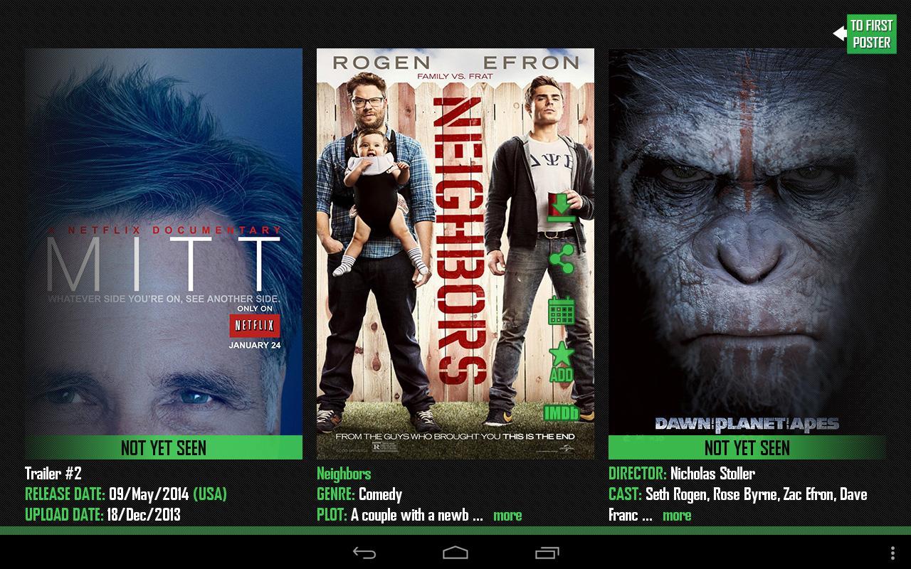 Actual Movie Trailers Pro- screenshot