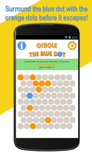 Circle The Blue Dot
