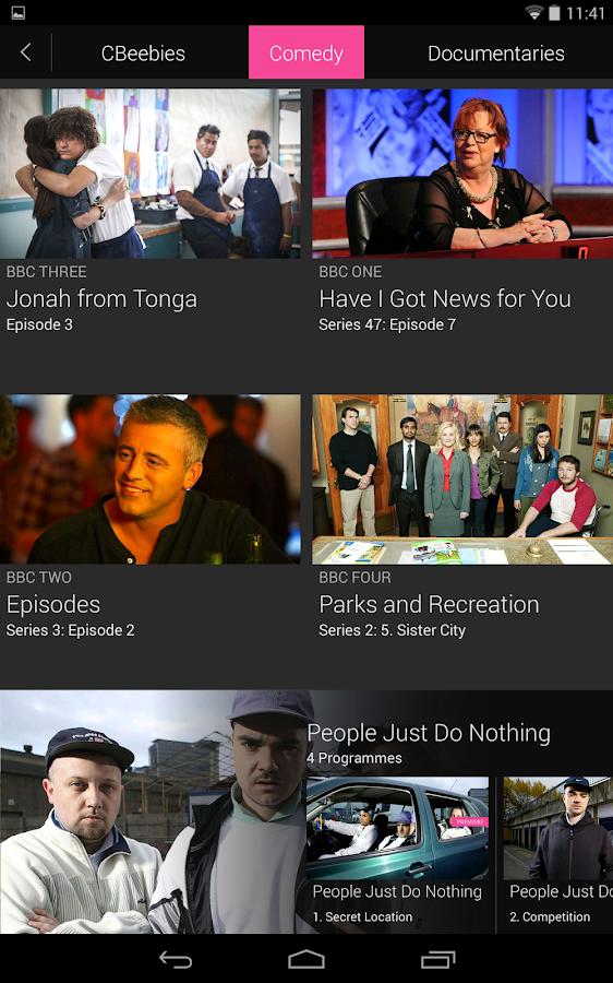 BBC iPlayer - screenshot