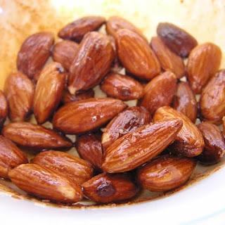 Spiced Fried Almonds