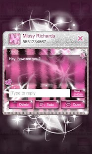 Ultra Cute Pink Zebra Theme - screenshot thumbnail