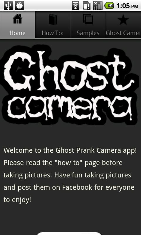 Ghost Prank Camera - screenshot