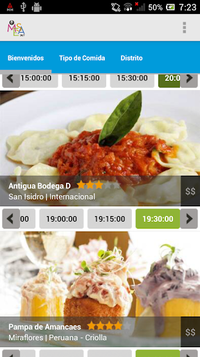 MESA 24 7 - Restaurantes Top