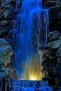 3D Waterfall wallpaper - screenshot thumbnail