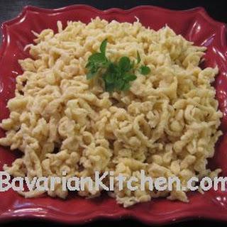 German Noodles Recipes.
