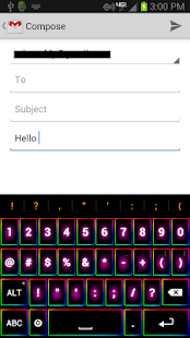 Rainbow Keyboard - screenshot thumbnail