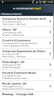 Eventos E-Commerce Brasil- screenshot thumbnail