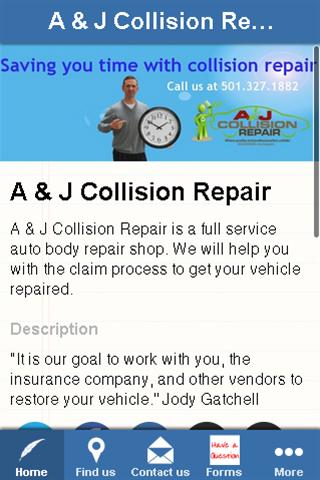 A J Collision Repair Inc