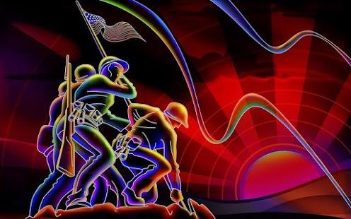 3D Abstract HD Wallpaper screenshot