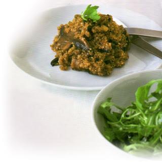 Leek And Quinoa Risotto