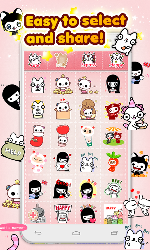 My Chat Sticker EMOJI 2- screenshot