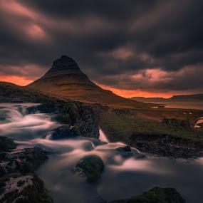 Into the Wild by Daniel Herr - Landscapes Sunsets & Sunrises ( kirkjufellsfoss, kirkjufell )