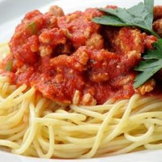 Frank's Famous Spaghetti Sauce.
