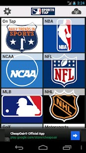 Sports Tap News, Scores, Games - screenshot thumbnail