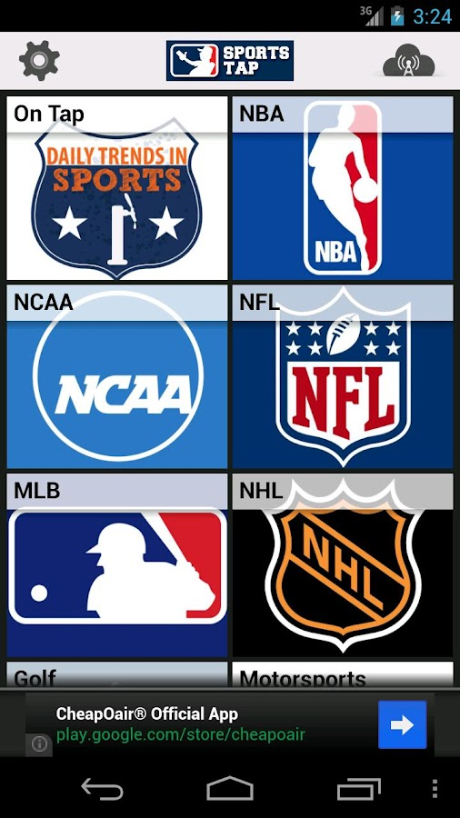 Sports Tap News, Scores, Games - screenshot