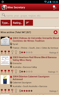 WS - Wine and Cellar - screenshot thumbnail