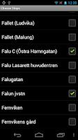 Screenshot of MyBus Dalarna