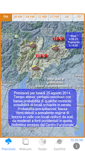 METEO TRENTINO screenshot 0