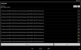Screenshot of Transmission GUI trial