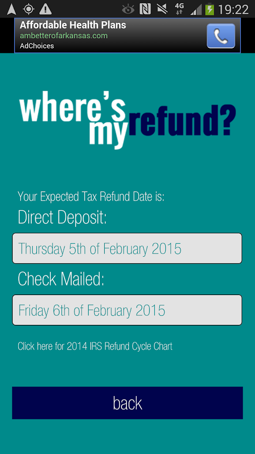 Where's My Refund - Android Apps on Google Play