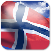 3D Norway Flag