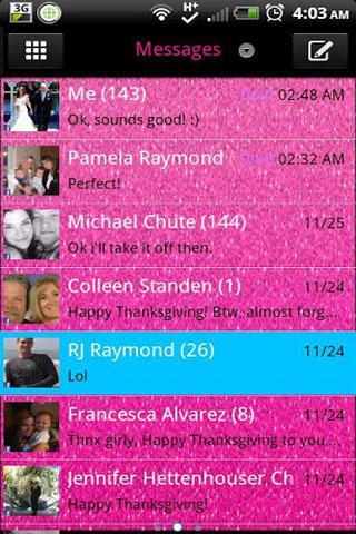 GO SMS - Sparkler