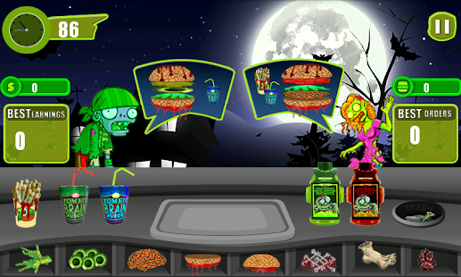 """Restaurant Story"":Zombie Cafe - screenshot thumbnail"