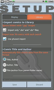 myComics - screenshot thumbnail