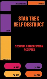 Star Trek Self Destruct - screenshot thumbnail