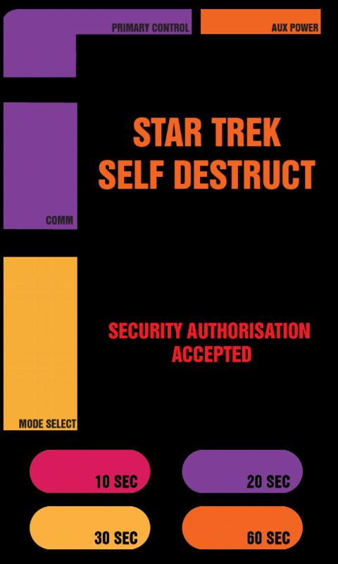 Star Trek Self Destruct - screenshot