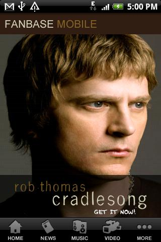 Rob Thomas Fanbase- screenshot