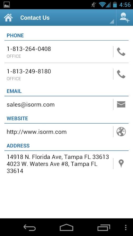 ISORM Computers App- screenshot
