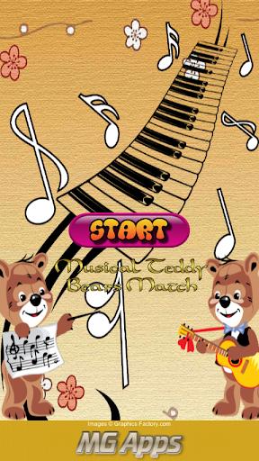 Musical Teddy Bears Match