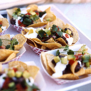 Goat Cheese Nachos