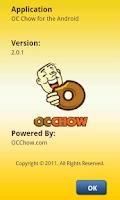 Screenshot of OC Chow
