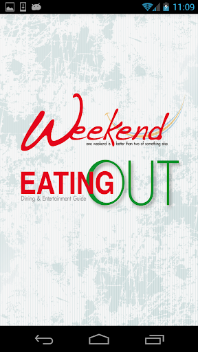 Eating Out Weekend