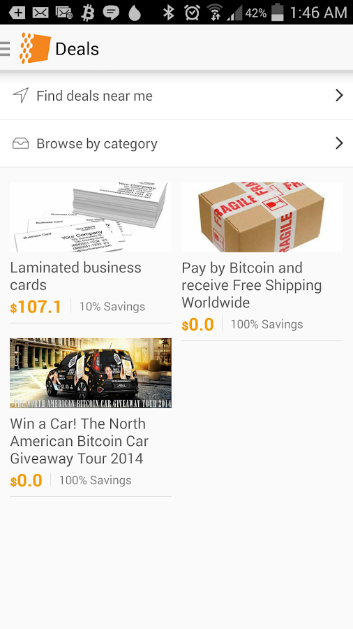 BitPages - Find Bitcoin Places- screenshot
