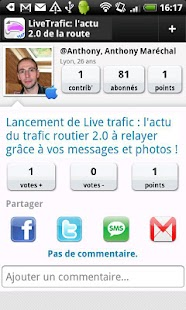 Live Trafic - screenshot thumbnail