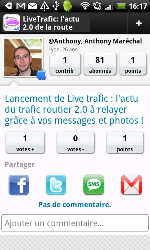 Live Trafic - screenshot