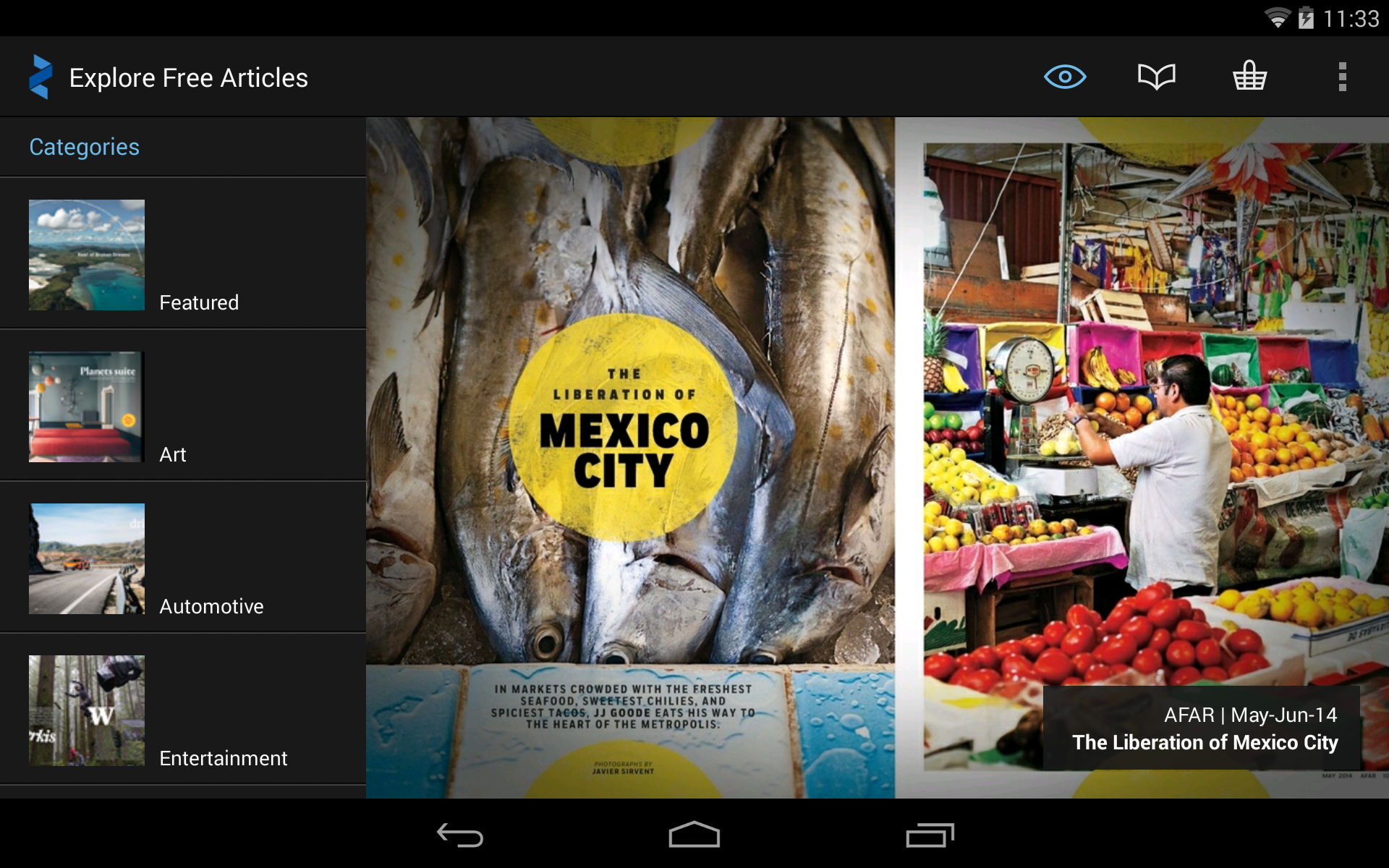 Zinio: 5000+ Digital Magazines screenshot #14