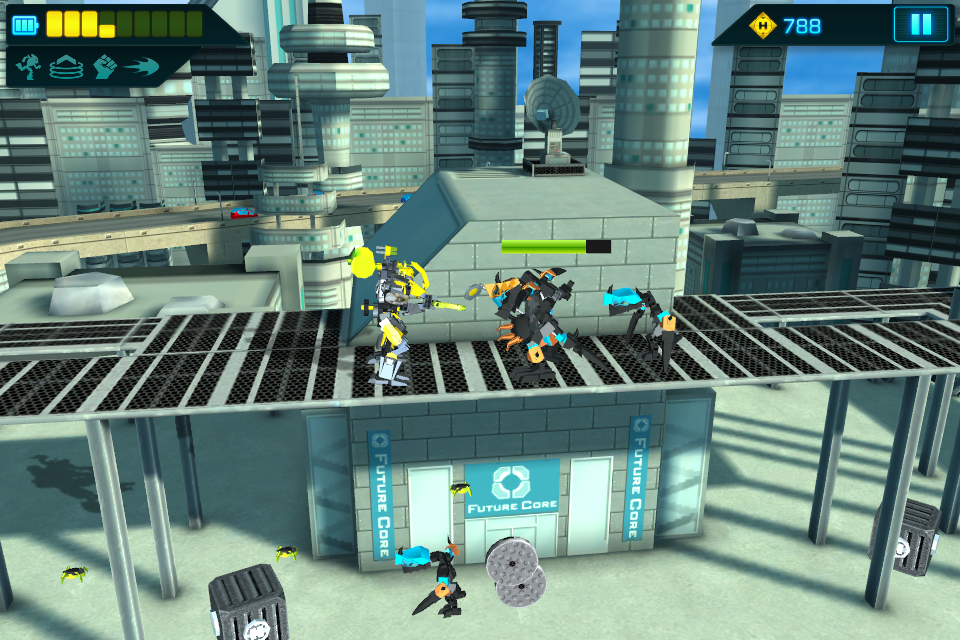 LEGO® Hero Factory Invasion - screenshot