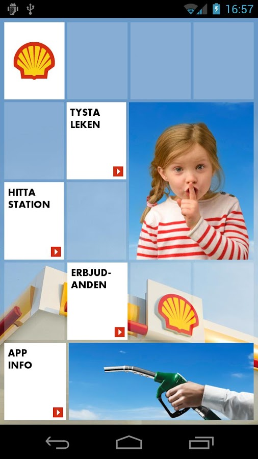 Shell Sverige - screenshot