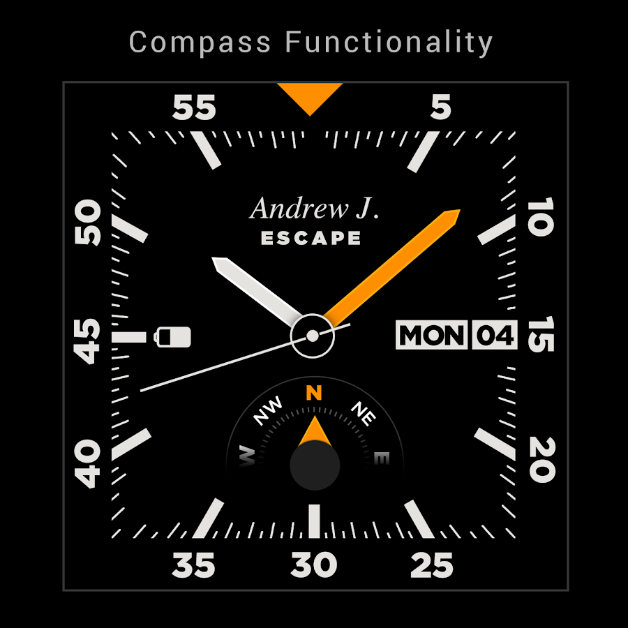 Escape Watchface Android Wear- screenshot