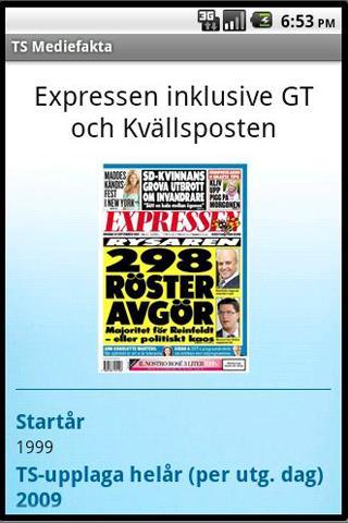 TS Mediefakta- screenshot