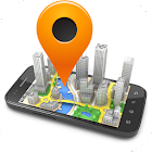 Maps 3D and navigation icon