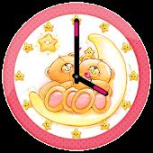 Cute Bear Clock