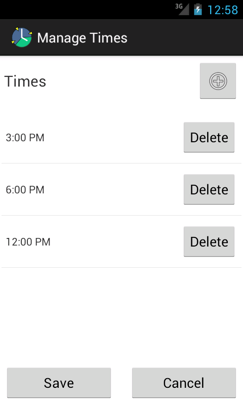 AnyTimer Pill Reminder - screenshot