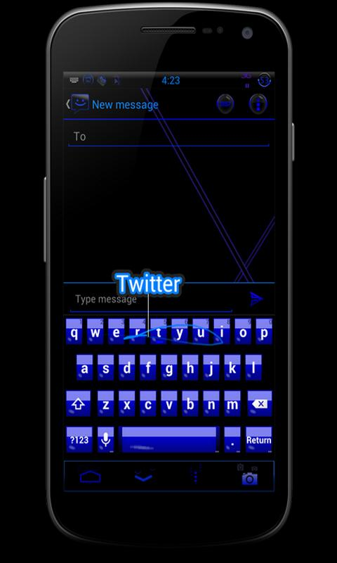 CM10 JB Theme:SMURFT OUT FREE - screenshot